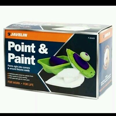 Easy Paint Pro 4 Bristle Pads Roller N Tray And Painting Point Tv Uk