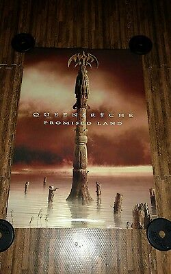 """Queensryche """"Promised Land"""" Double Sided Promo Poster 24x36"""
