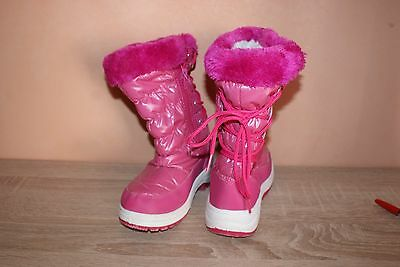 bottes hiver fille taille28