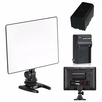 YN-300 air Pro LED Camera Video Light For Canon Nikon + NP-F550 BATTERY+Charger