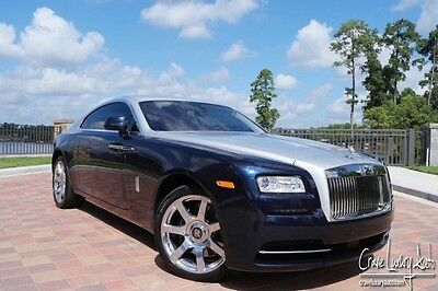 2015 Rolls-Royce Other Base Coupe 2-Door Rolls Royce Wraith Loaded leather premium Crave Luxury Auto