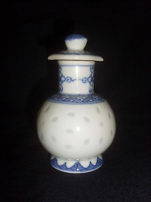 Small Chinese Porcelain Screw Top Bottle