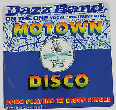 "DAZZ BAND On The One 12"" vinyl UK 1983 Motown plays NM!"
