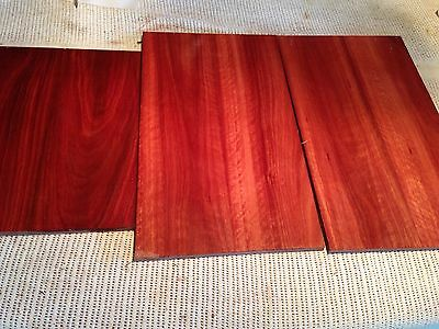 Jarrah Timber Blanks For Wood Craft Or Boxes Lot 2
