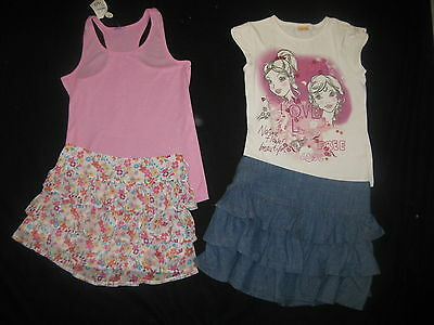 Bulk Girls Size 9 Summer Clothing Outfit Skirts Tops
