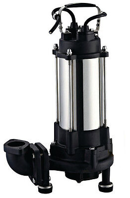 IBO Heavy Duty 1.8KW ULTIMATE GRINDER Submersible Sewage SUMP PUMP 14000lph 400V