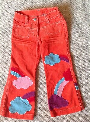 Boden girls corduroy trousers aged 4 excellent condition