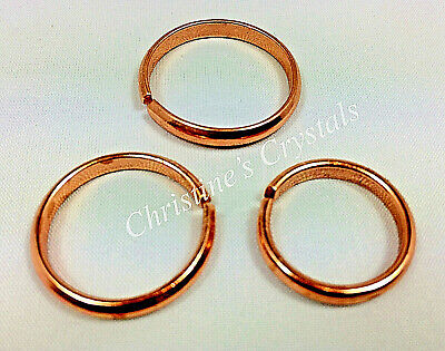 A Non Magnetic Solid COPPER RING Healing Arthritis Relief ( R5 )