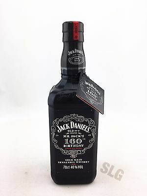 Jack Daniels 160th Birthday Tennessee Whiskey - German release 70cl 40%