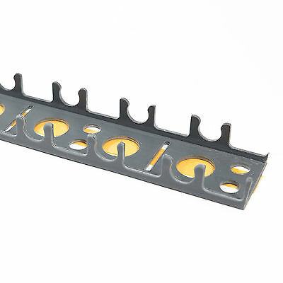 Underfloor Heating Clip Rail for 16mm pipe - 1m length - 50 in a pack