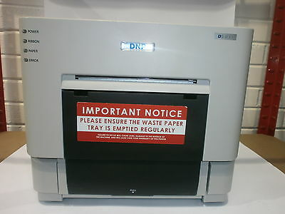 "DNP DS-RX 6"" Dye Sublimation Printer + USB and Power Cord ( POWER ON TESTED ONLY"