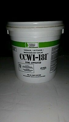Ccwi -181 water based duct sealant mastic 1 gallon