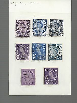 Great Britain - Small Selection Of Used Stamps - Gb8