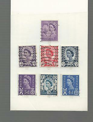 Great Britain - Small Selection Of Used Stamps - Gb6