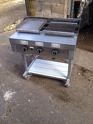 3 Burner Gas charcoal grill