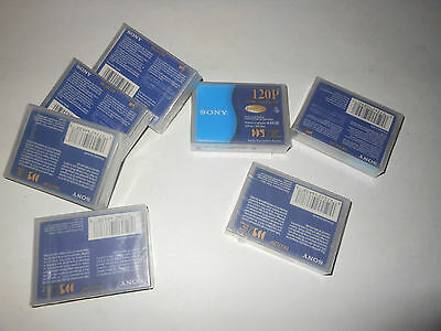 Lot of 7x  Sony 120P DGD120P 4 GB DDS-2  Data Cartridge Backup Tape