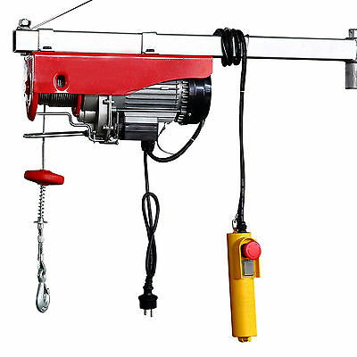 Electric Winch Hoist Lifting Engine Pulley Electric Wire Rope Winch 400/800 kg