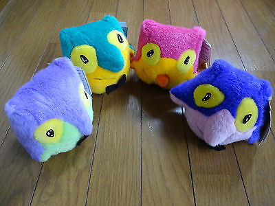 1998 Nagano Olympic Mascot Snowlets Original Plush Set
