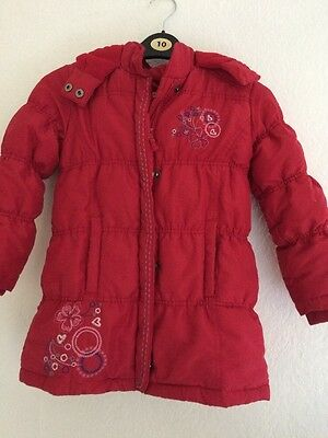 Girls Warm Padded Coat. Bluezoo. Age 5-6 Years