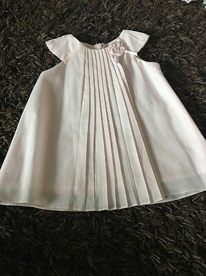 sarah louise baby girls traditional designer frilly dress exc condition