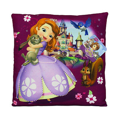 Disney Sofia the first Pillow cushion 35*35cm Purple. Perfect for a gift.