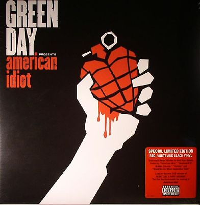 GREEN DAY - American Idiot - Vinyl (limited gatefold coloured vinyl 2xLP)