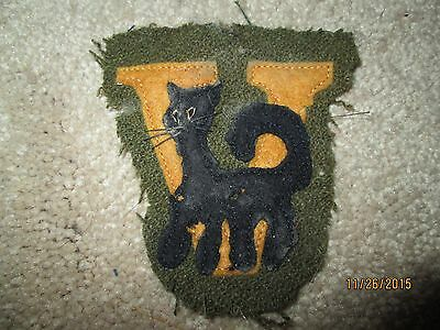 WWI US Army Air Corps 638th Aero Squadron Patch wool AEF
