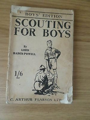 Scouting for Boys by Lord Baden-Powell - 1946
