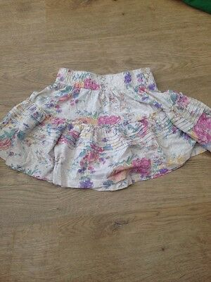 Fab Next girls red corduroy skirt. Age 4 years. Excellent condition