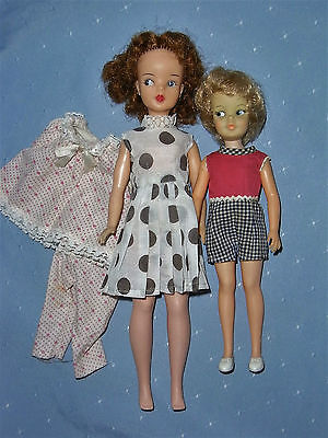 Vintage Canadian Ideal Reliable Tammy & Japanese Pepper Dolls