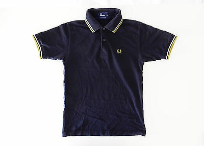 Fred Perry Vintage Shirt Polo Maglia Cotone Xs