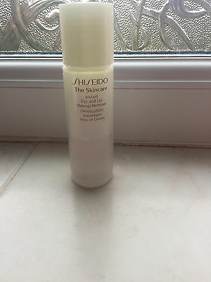 Used Shiseido The Skincsre Instant Eye and Lip Makeup Remover 30ml