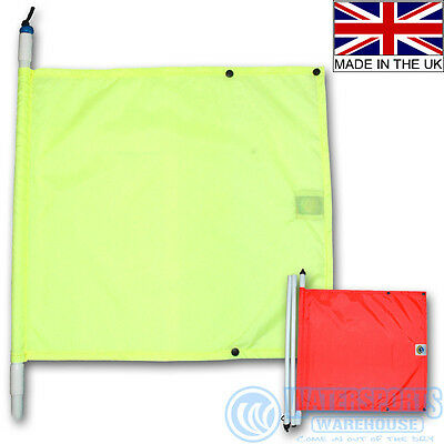 Bowstone Divers Emergency Pop Up/extending Flag Great For Signalling Dive Boats