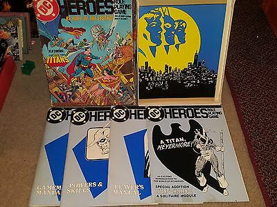 DC Heroes' Role Playing Game Featuring Teen Titans Box Set Mayfair 201 1989