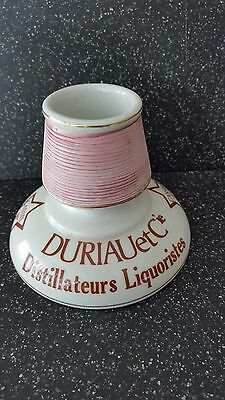 Vintage Art Deco Style Match Striker ~Holder ~Advertising Durlau Et Cie Absinthe