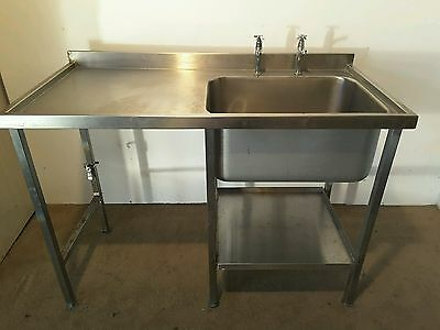 stainless steel commercial sink unit
