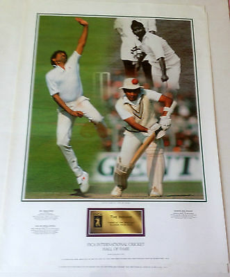 Cricket Hall Of Fame Print - The Indians