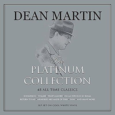 Dean Martin The Platinum Collection - 3 Lp Set On Cool White Vinyl, 48 Classics