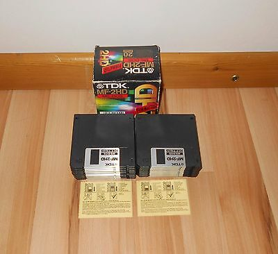 20x - T.D.K. - MF-2HD  MS-DOS Formatted Disks. UNUSED