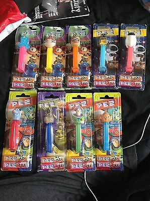 Bulk Pez Dispensers Shrek Monsters Vs Aliens Wall-e Pixar