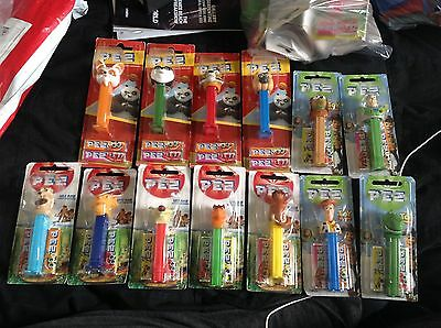 Bulk Pez Dispensers Kung Fu Panda Toy Story Ice Age