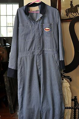 Vintage Original ESSO Gas Station Coveralls