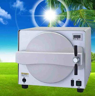 Medical Steam Sterilizer Dental Lab Sterilizer Equipment Autoclave 900W 18L DHL!