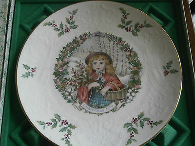 The Bone China Christmas Plate By Royal Doulton.in Celebration Of Christmas.
