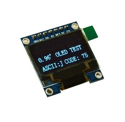 "1PCS Blue 3-5V 0.96"" SPI Serial 128X64 OLED LCD LED Display Module for Arduino S"