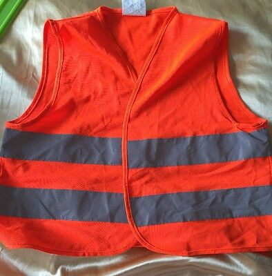 Childs High Visibility Vest 3-12 Years