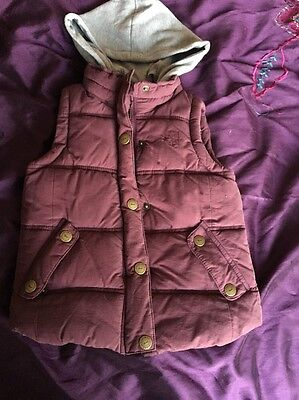 Girls Next Hooded Gilet Age 5/6 Years