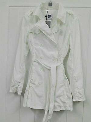 Papermoon  Kid Girl White Jacket Size 140cm 10 Years RRP £89 Now £22