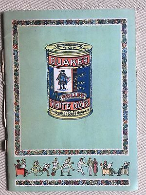 Vintage Quaker Oats 30 page Booklet In Japanese