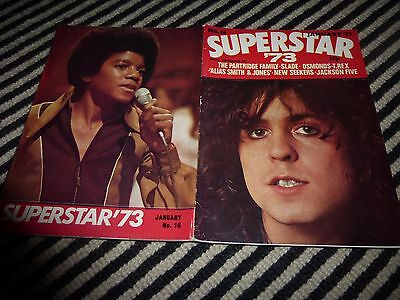 Marc Bolan Superstar 1973 Mag Slade Michael Jackson Marty The  Partridge Family